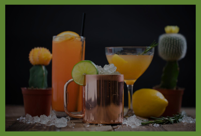 Drinks - Mon-Thurs: 12pm-12am | Fri-Sat: 11am-2pm | Sun: 11am-12am