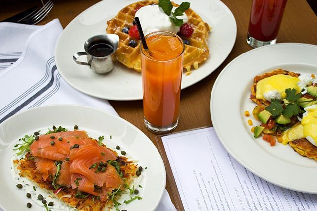 With succulent smoked salmon and $15 bottomless bloody marys, an unbelievable brunch awaits you each weekend at Corinne.