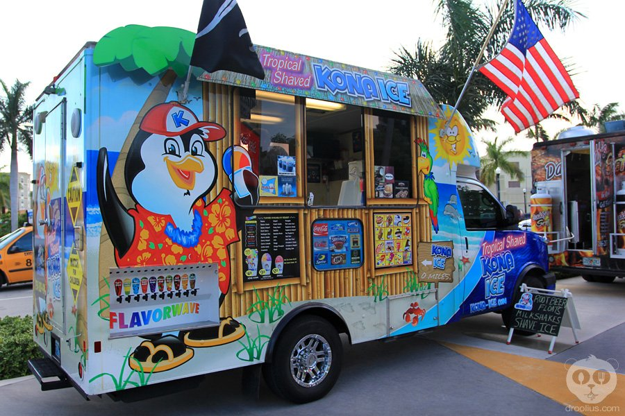 Kona Ice    Tropical Shaved Iced with build your own flavor combinations!!!