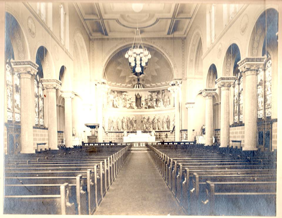 Photo taken in 1913. This church is now 100 years old.