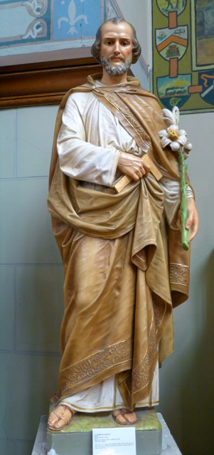 Statue from Mount Saint Joseph Academy, Buffalo, New York