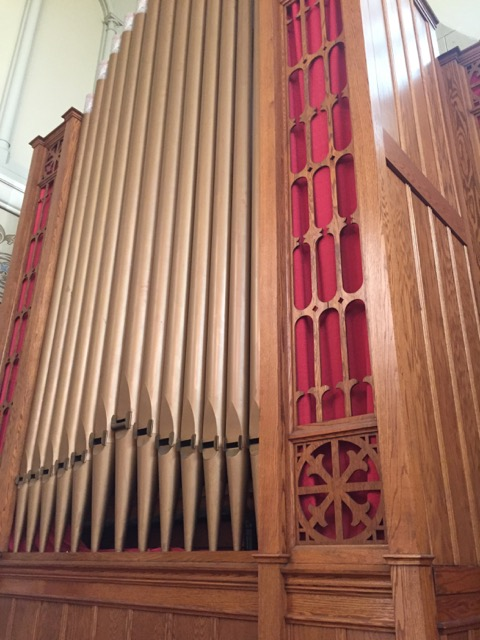 This organ is a historic Schlicker Organ Opus #2