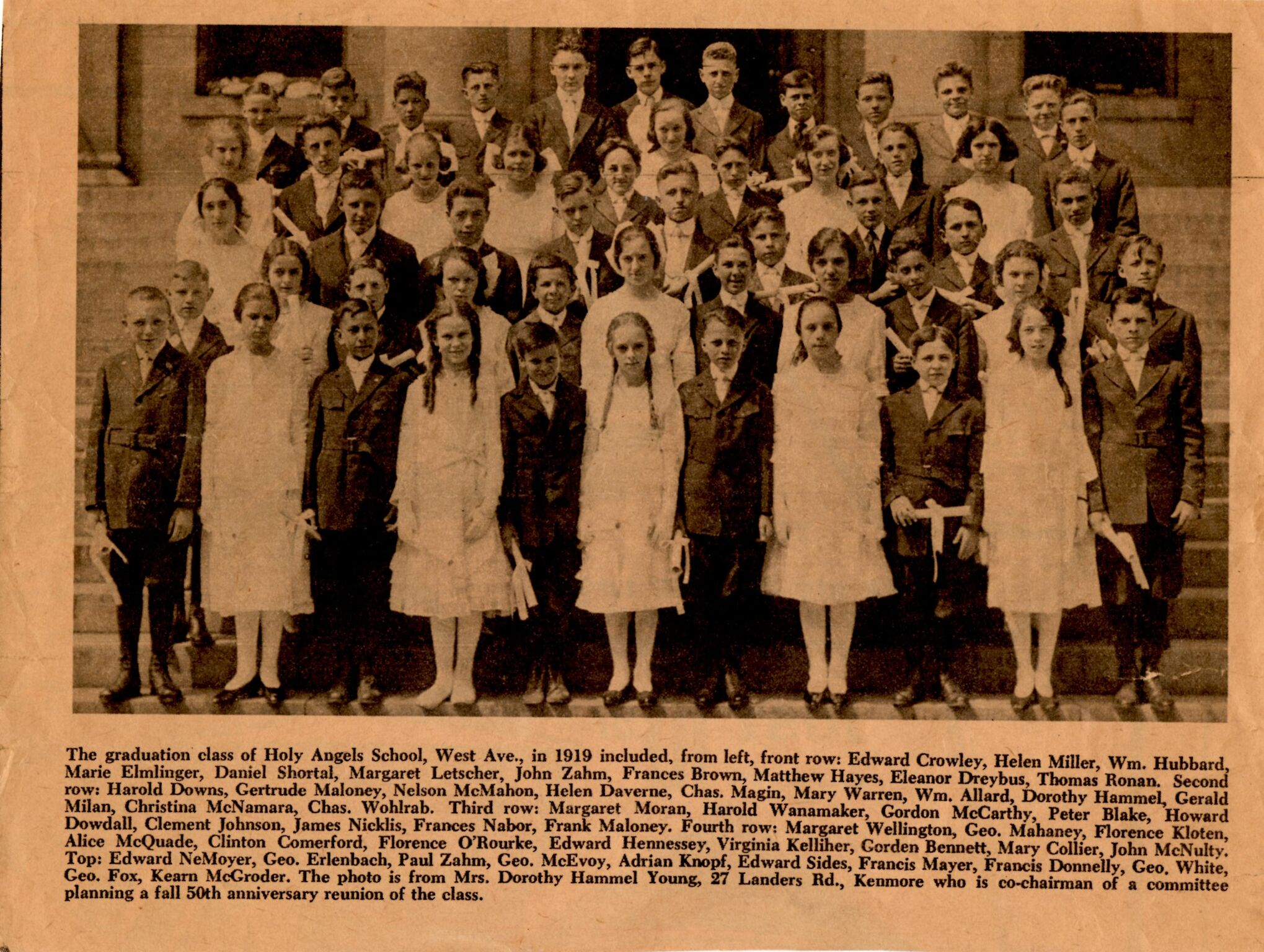 1919 Graduating Class from Holy Angels Academy.jpg