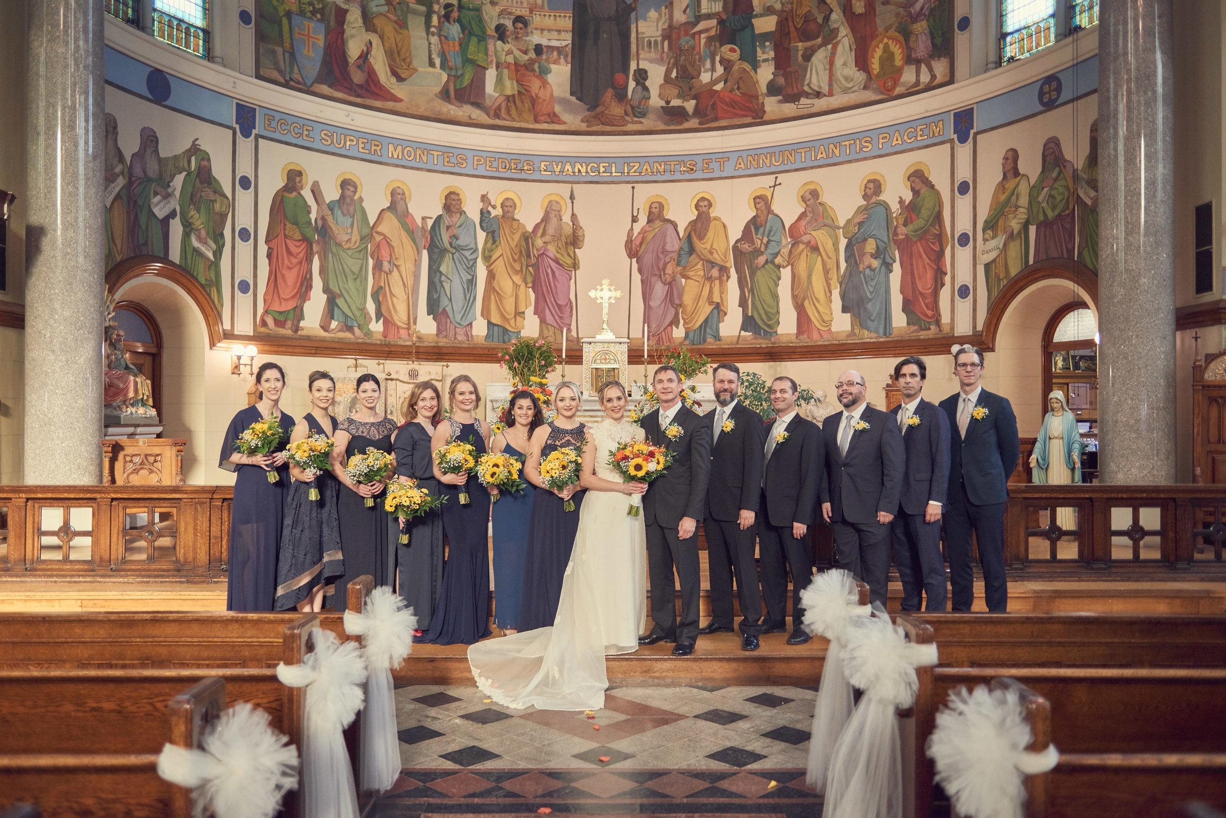 Austin Kennedy, Photographer.  Wedding Party