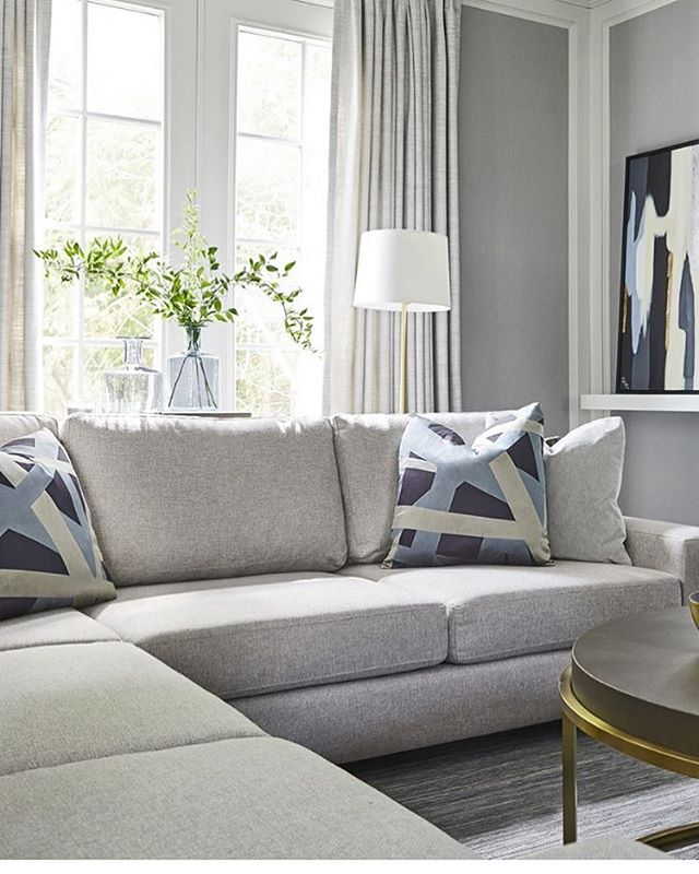 A tranquil corner shot for @glucksteinhome @briangluckstein . . . . . With @aplus_creative photo @stephen_welstead #torontophotographer #homestyle #interiordesign #stephenwelstead #home #sofa #light #interiors #style #homedecor #furniture