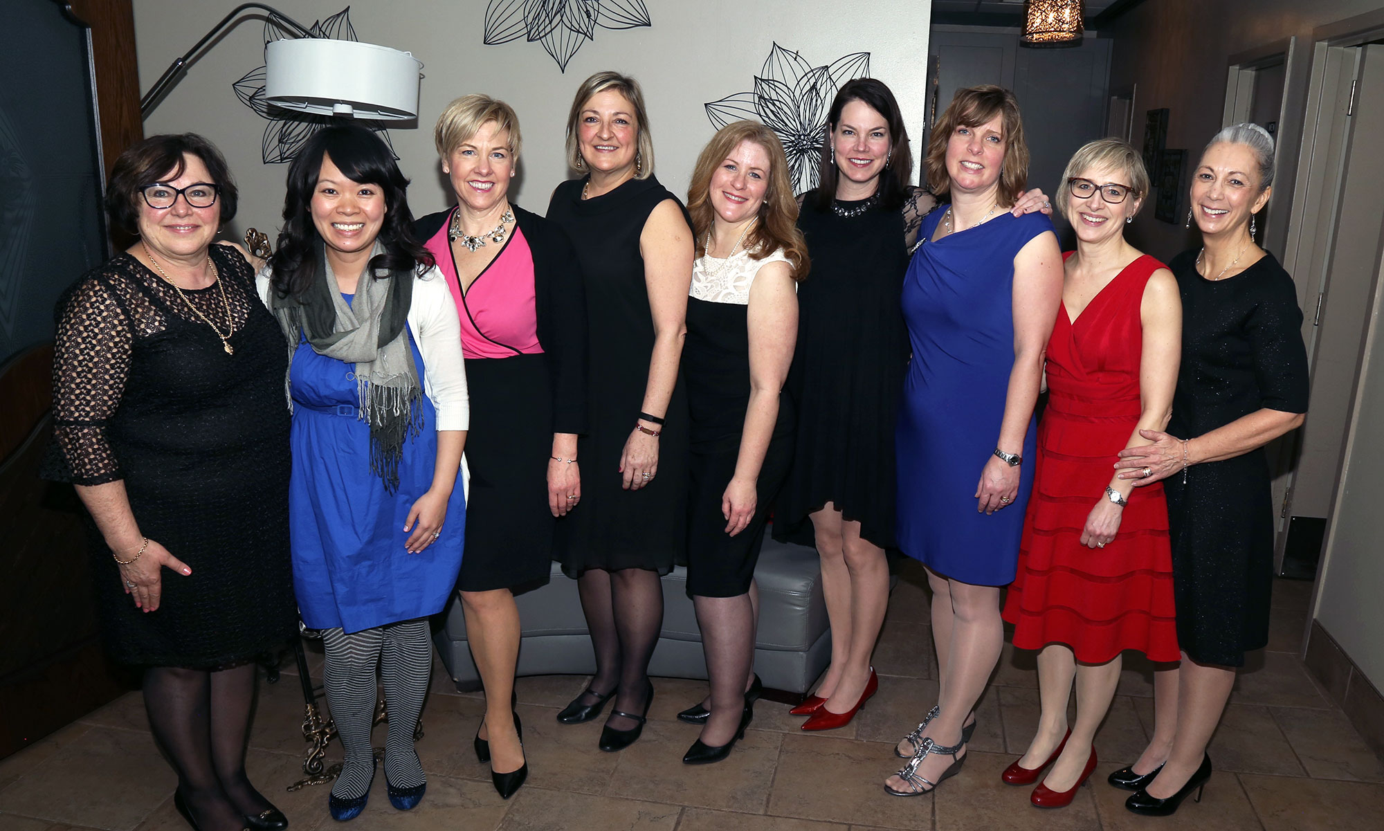 Some members of the executive at Heart Beat's 30th Anniversary Gala