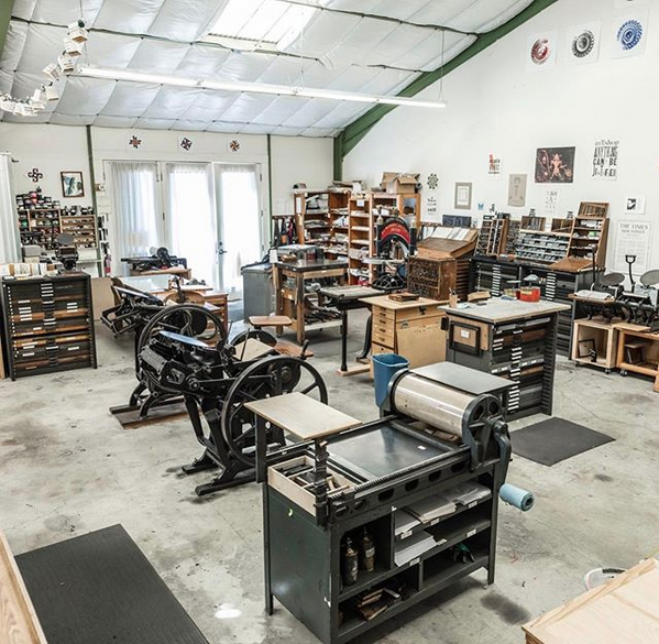 north bay letterpress arts printshop