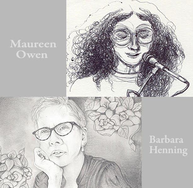 Barbara Henning and Maureen Owen North Bay Letterpress ArtsReading