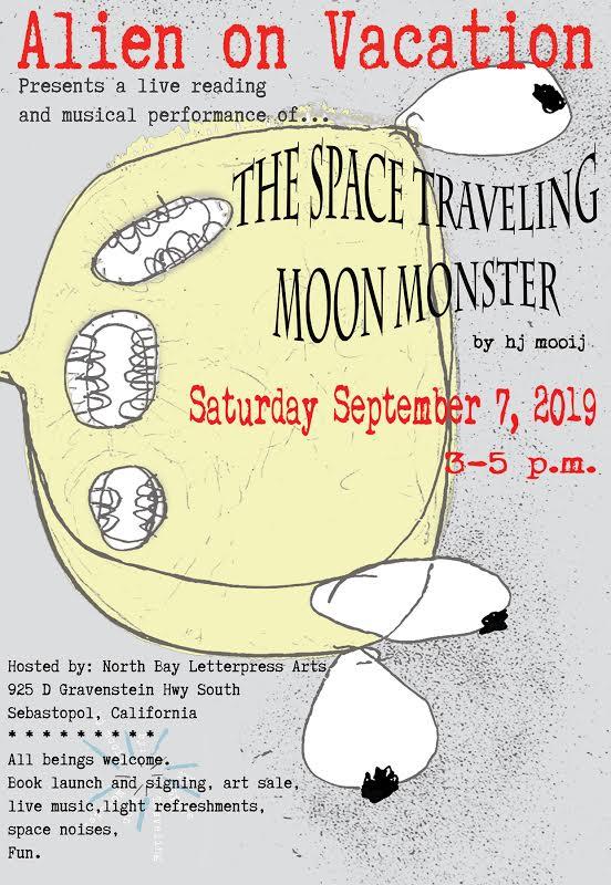 moon monster promo poster