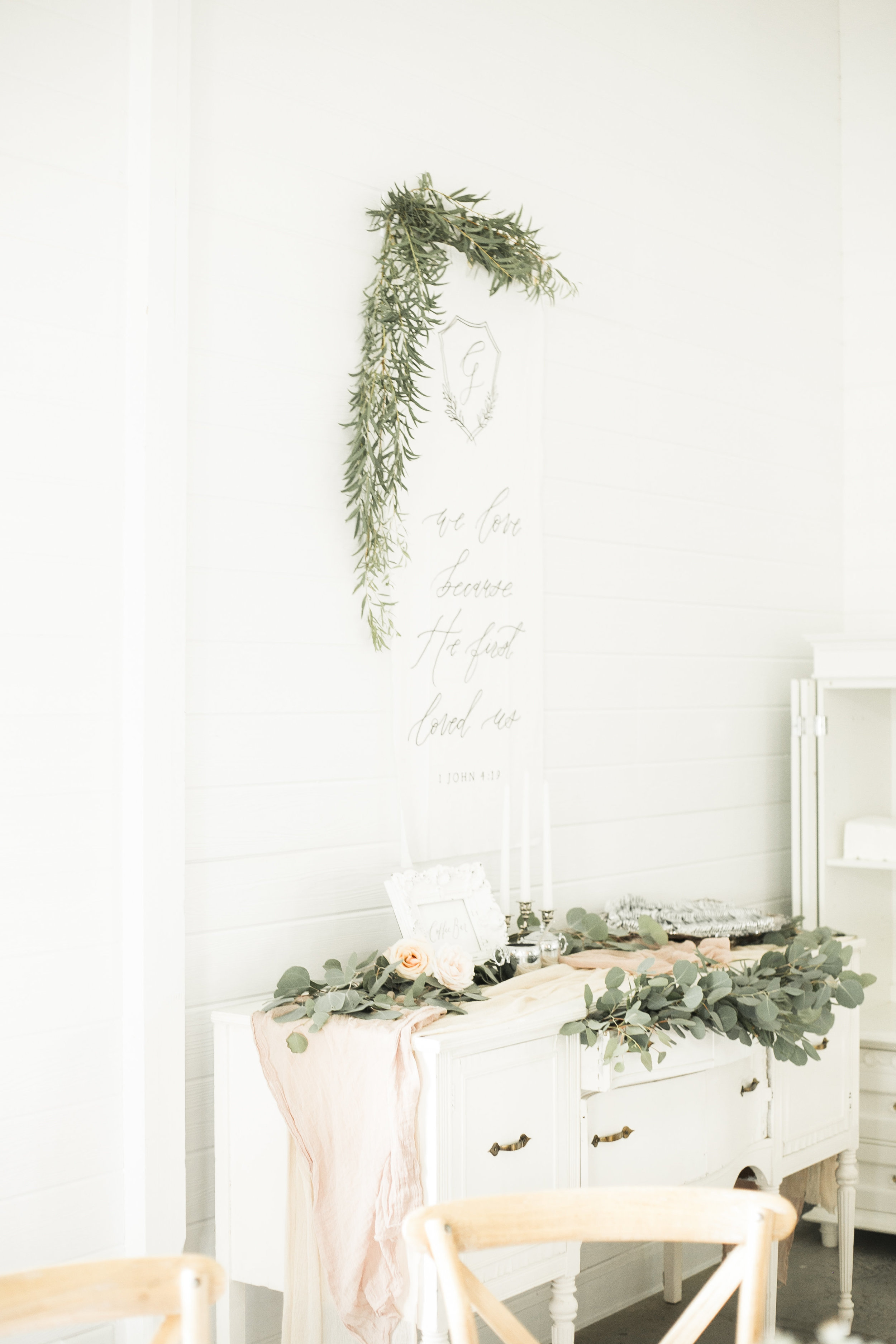Classic and vintage white and greenery wedding - 84.jpg