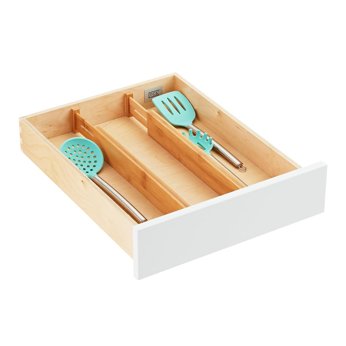 "2.4"" BAMBOO DRAWER DIVIDER"