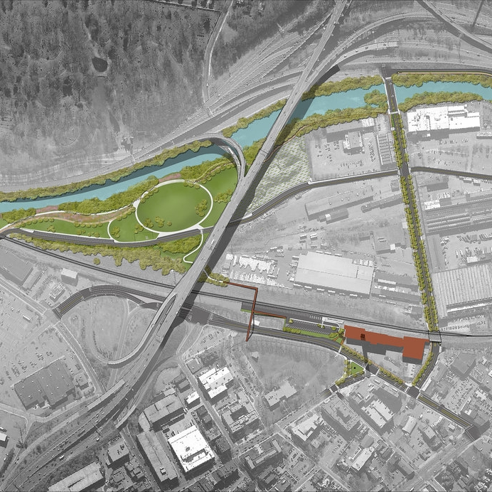 Reviving an Industrial Riverfront - Waterbury, CT