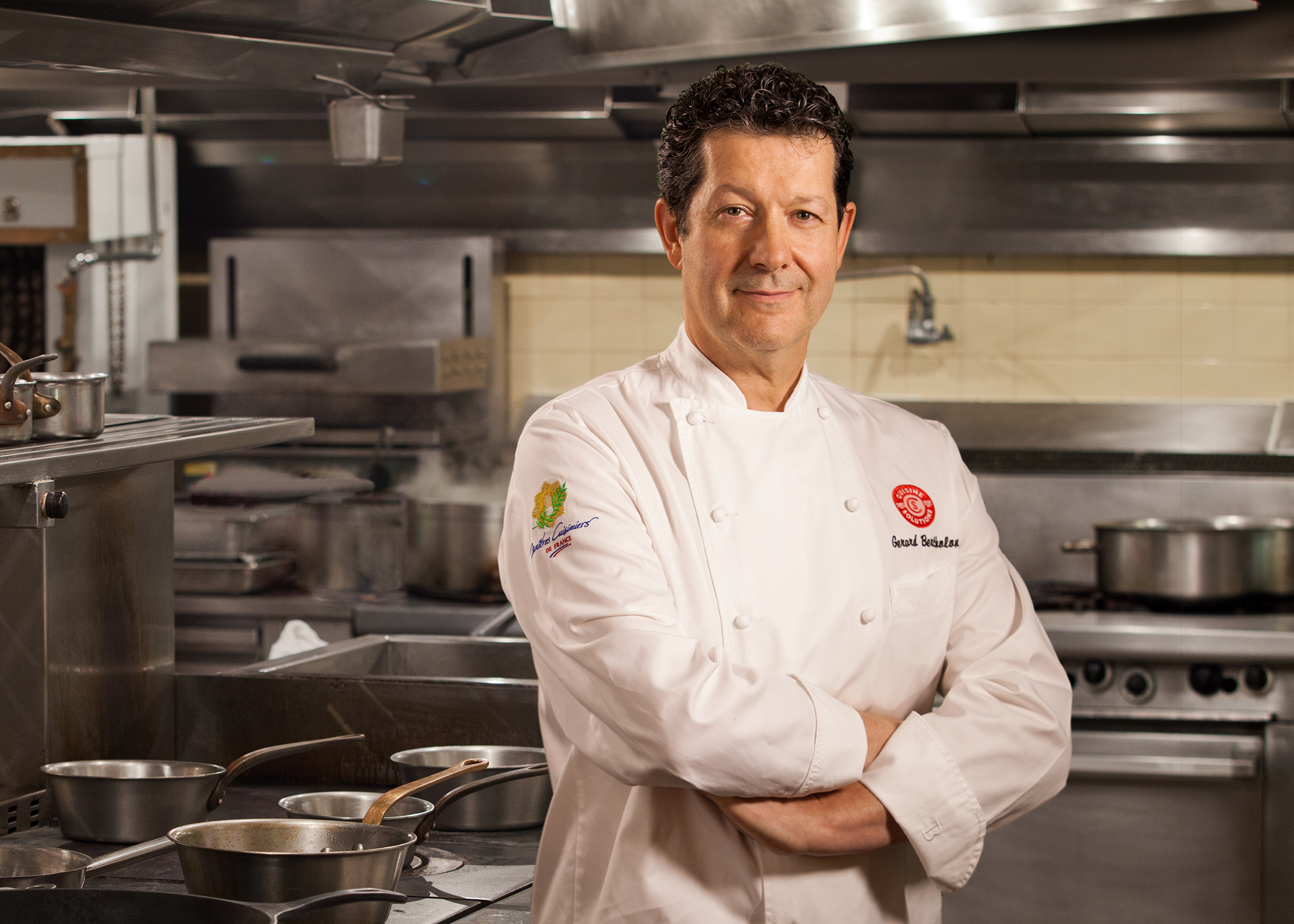 Chef Gerard Bertholon   Cuisine Solutions  Sterling, VA