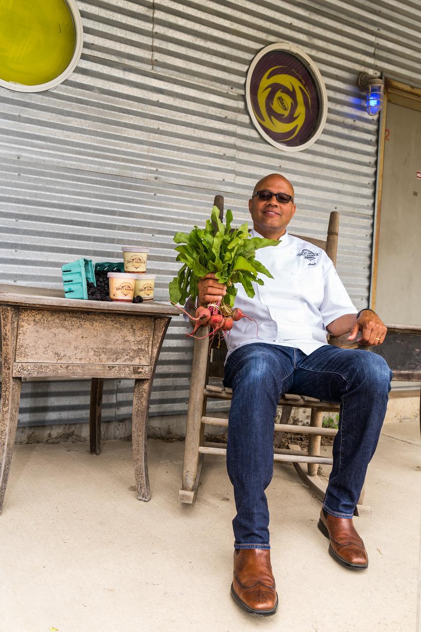 Chef Hugh Balthrop   Sweet Magnolia Gelato  Clarksdale, MS