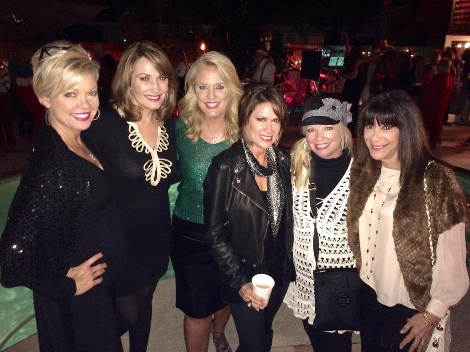 My friends and HSN hosts at my 50th Bday party