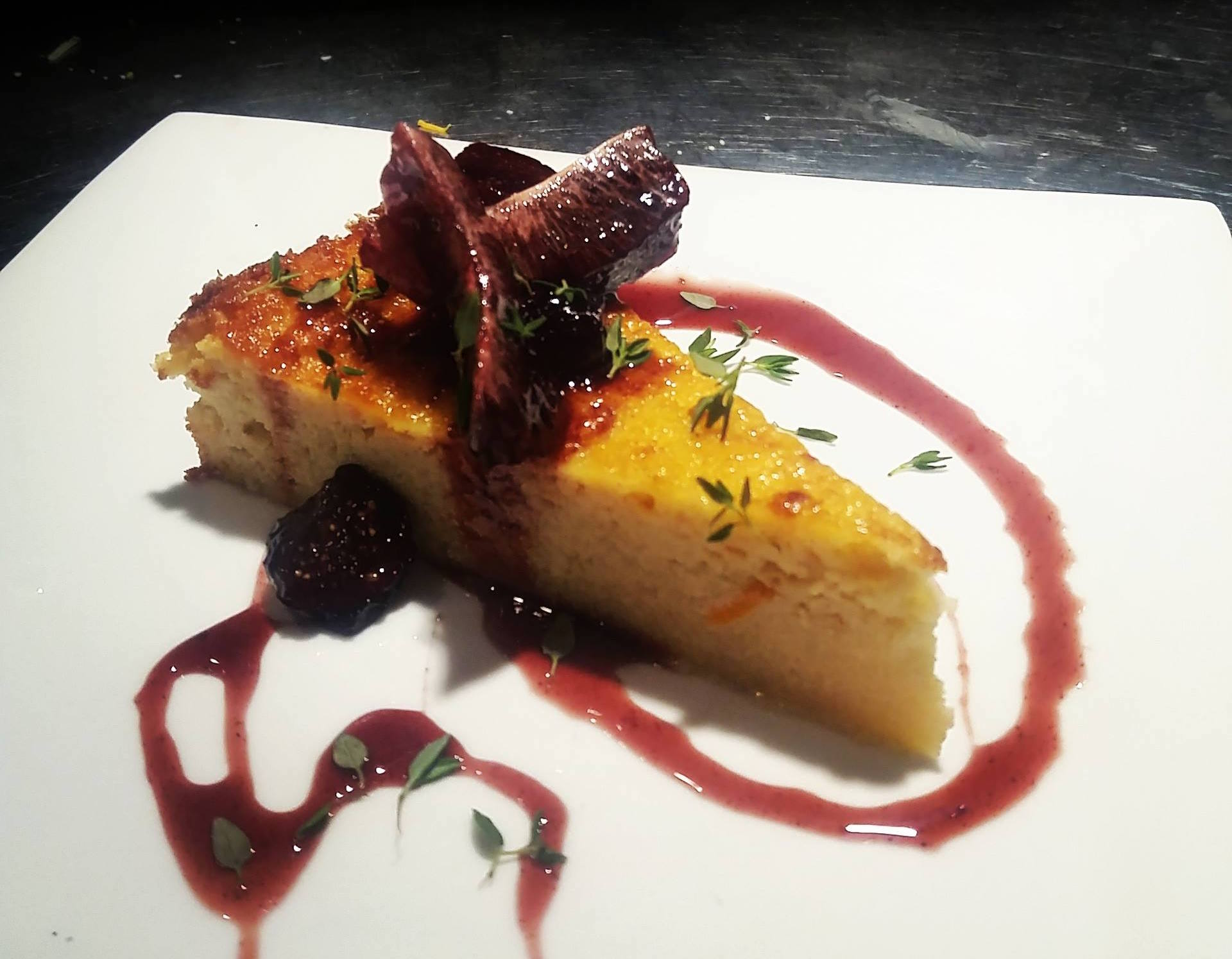 blood orange ricotta cheesecake with red wine glazed figs.jpg