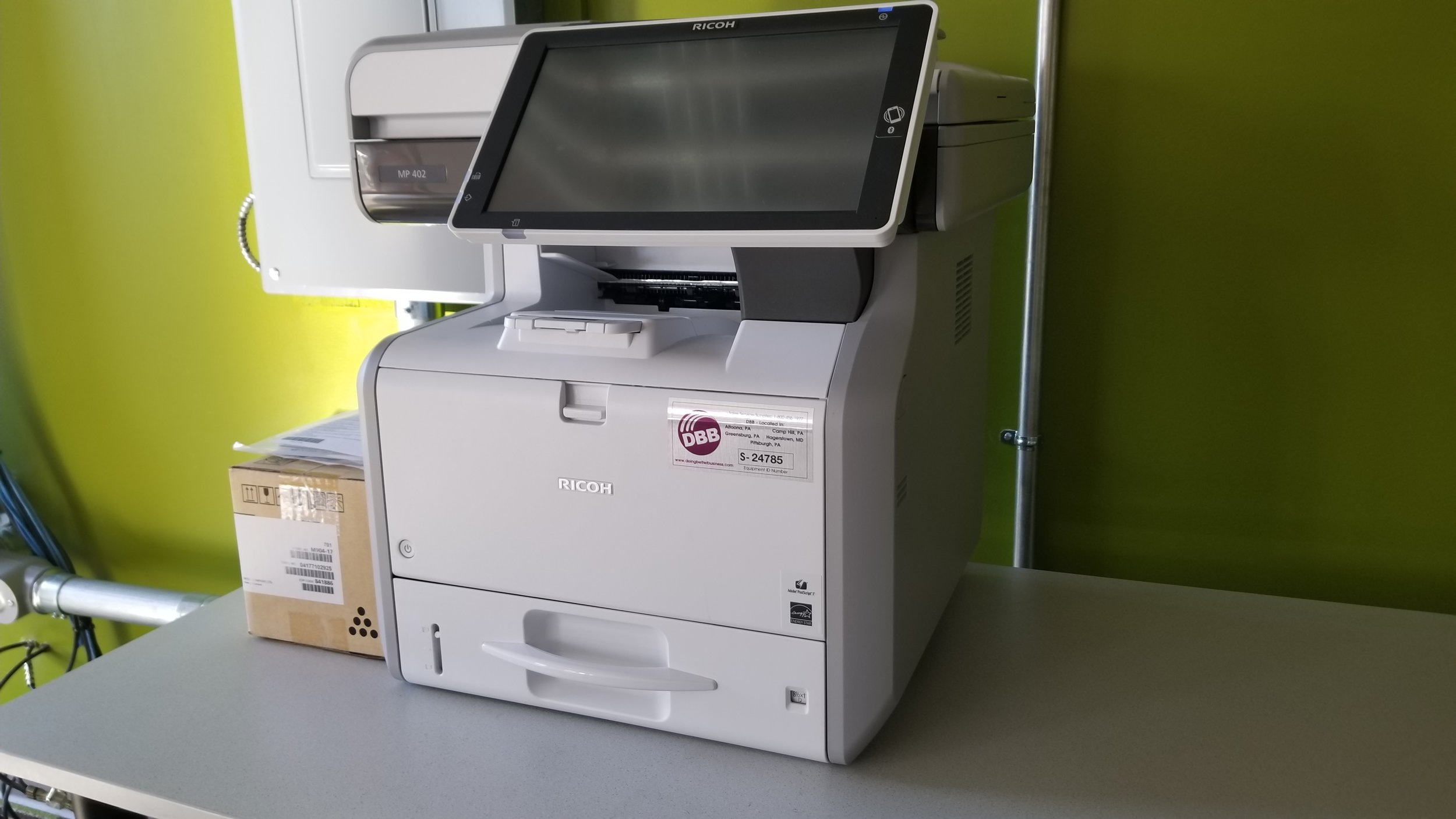 Up to 200 print copies can be made by members each month, and members are able to use the machine for scanning materials as well.