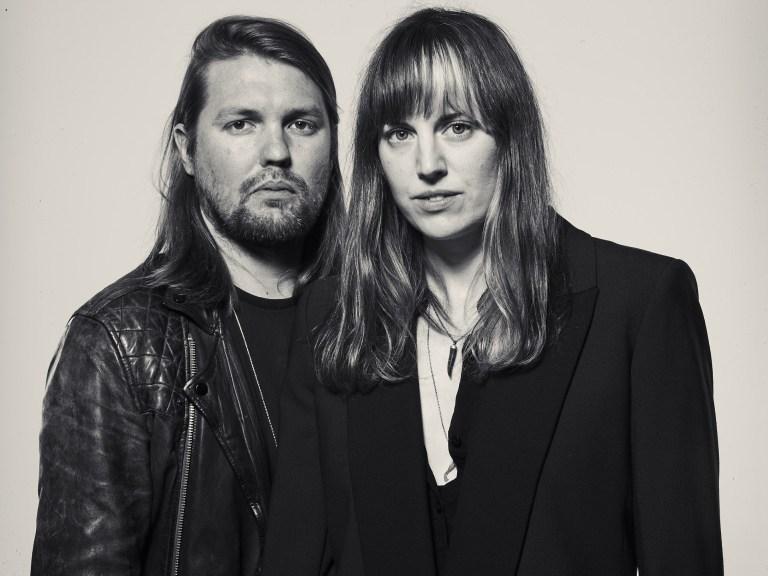 Band of Skulls' Russell Marsden and Emma Richardson © John Ros