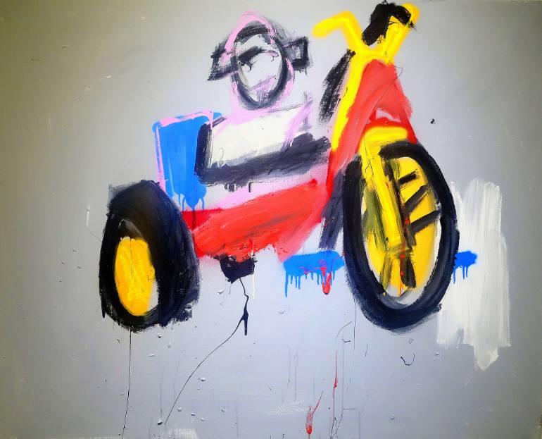 """Big Wheel"" by Stephen Cogle"