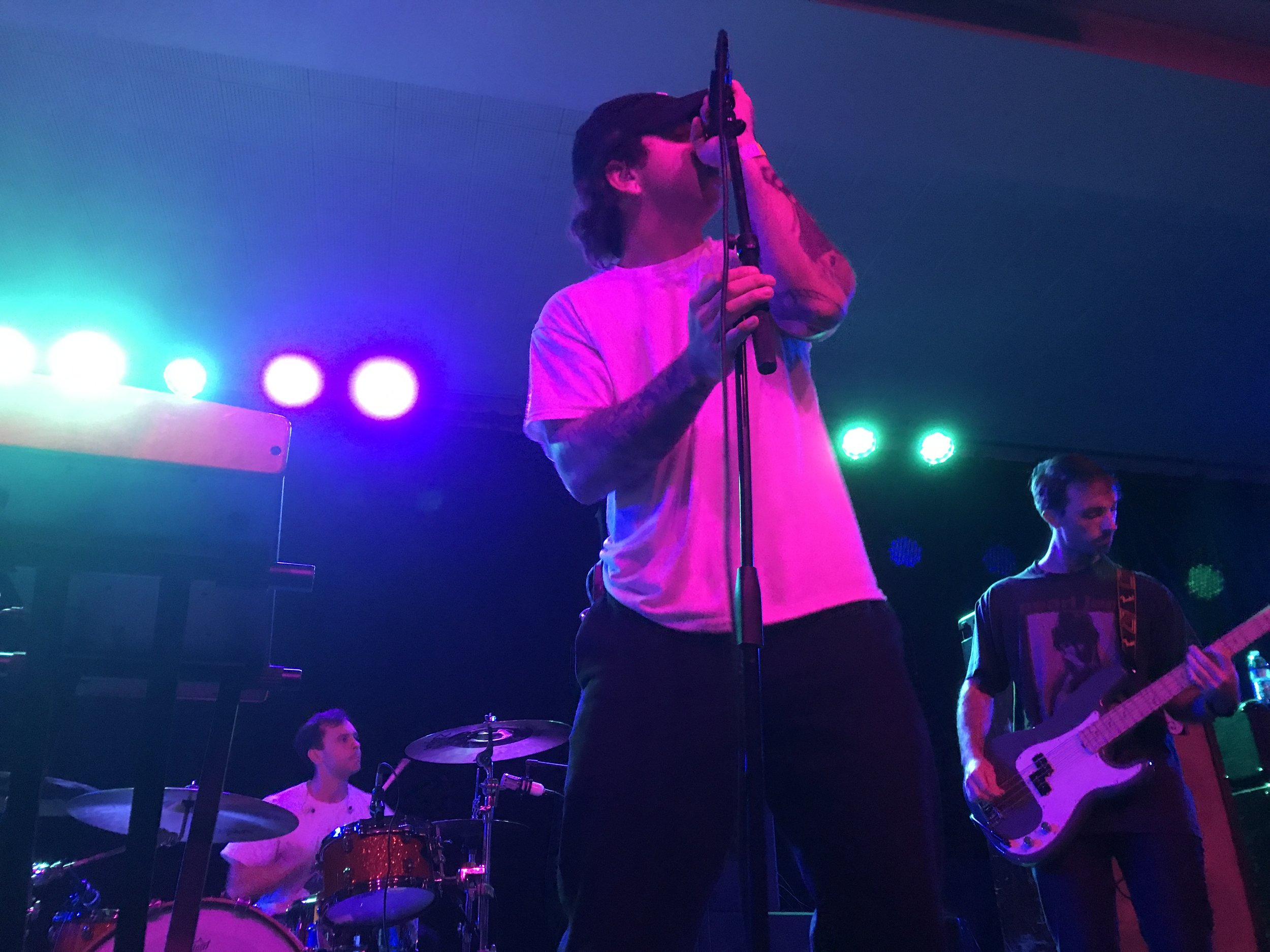 Citizen, a pop-punk band from Toledo, closed down the festival Saturday night in the Taft Ballroom.