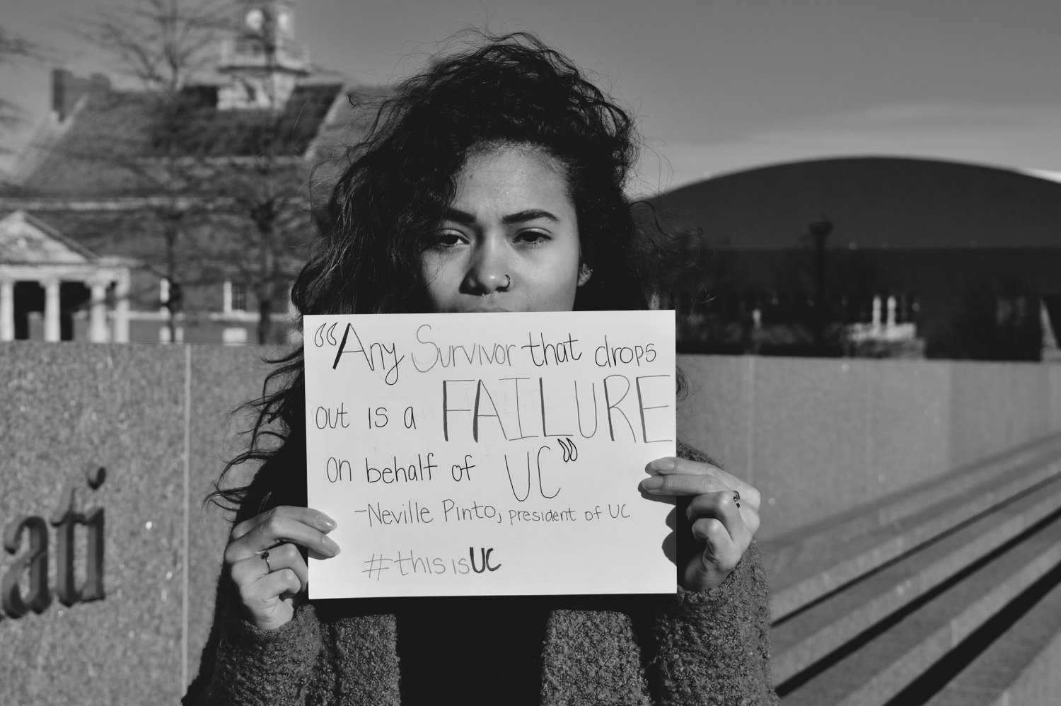 Photos provided by Students for Survivors.