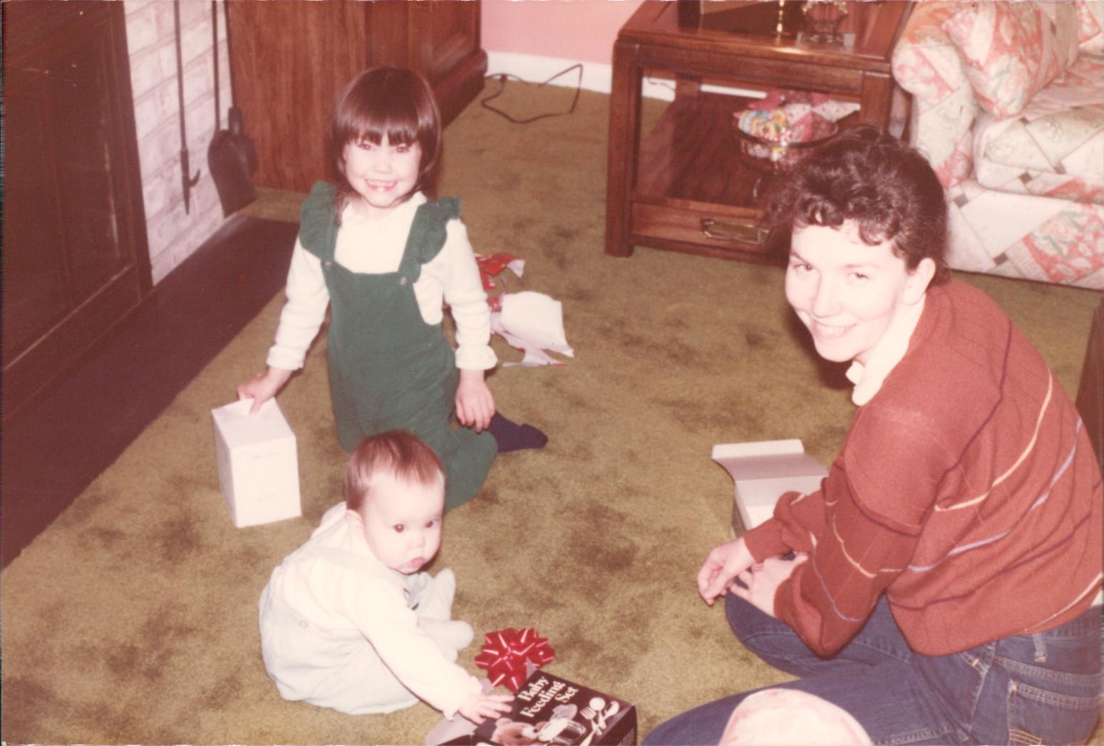 Mary Ellen Mitchell with mom Carolyn Walker
