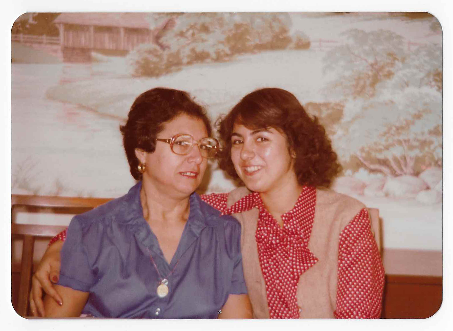 Lourdes Ward and mom Alba