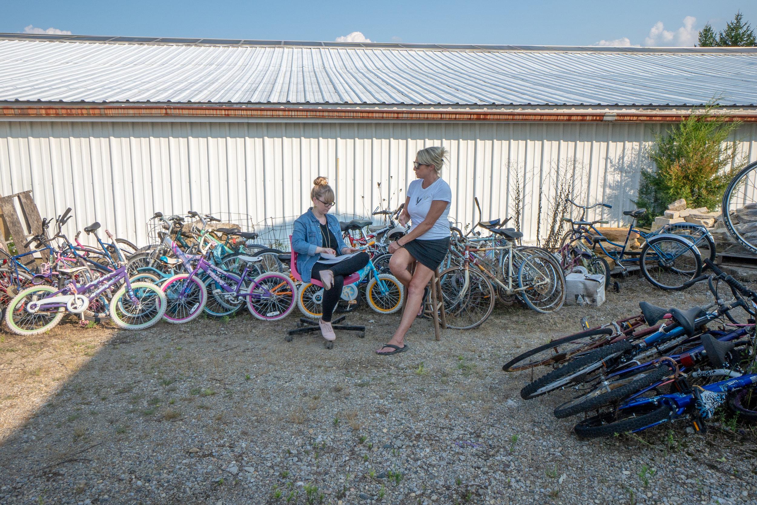 Jamie Beringer of Bicycle Recycle