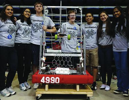 OPTIMIZING A ROBOT - Crystal Springs Upland School Industry: Education/RoboticsREAD MORE >