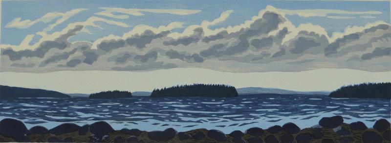 Pleasant Bay, Summer Clouds
