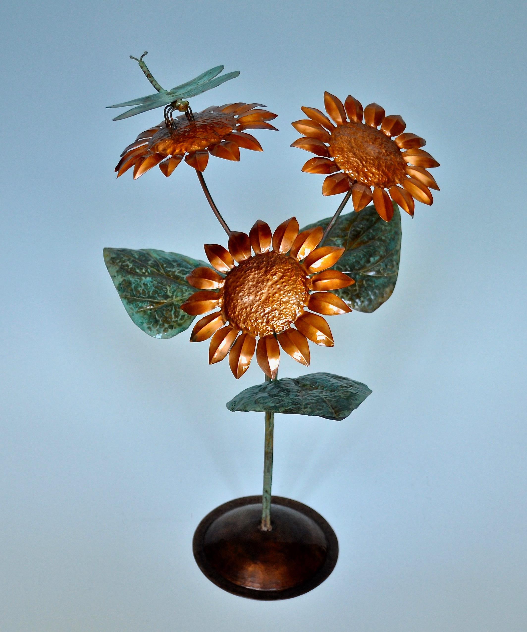Sunflower Sculpture
