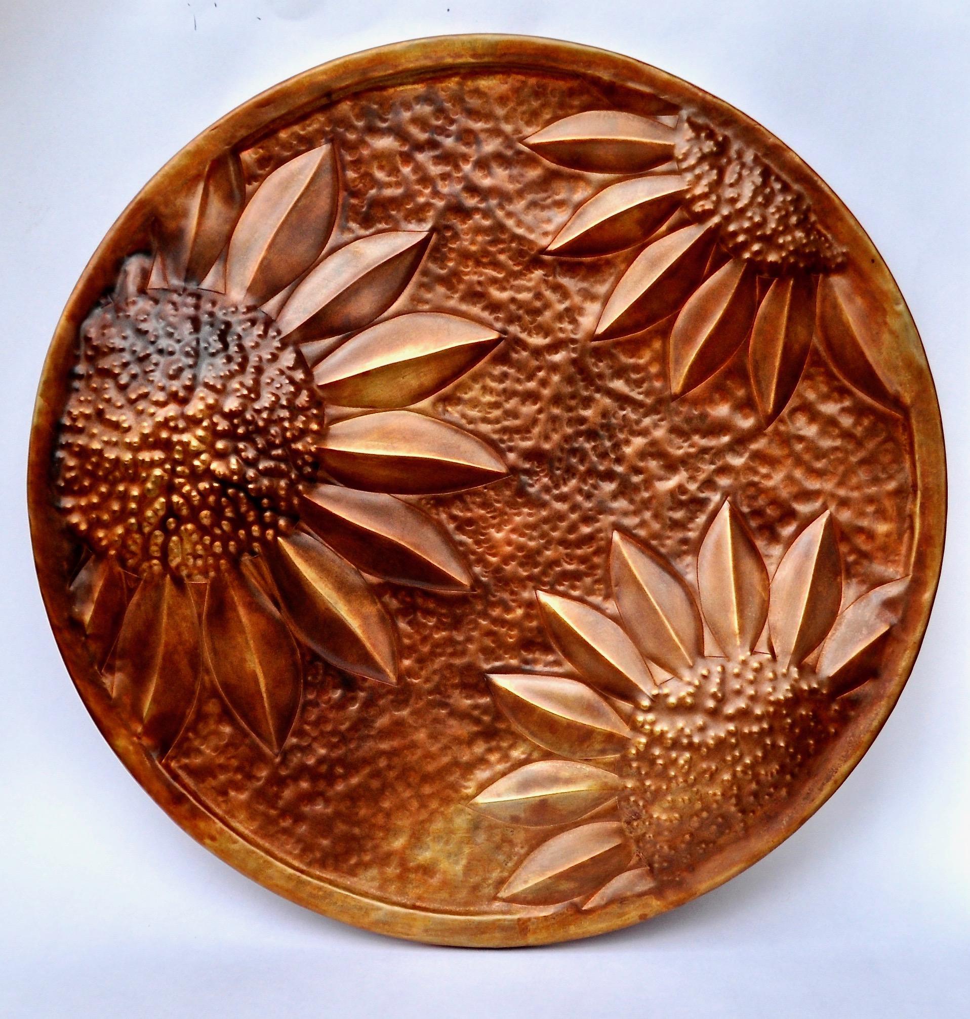 """Sunflower - 14"""" Round"""
