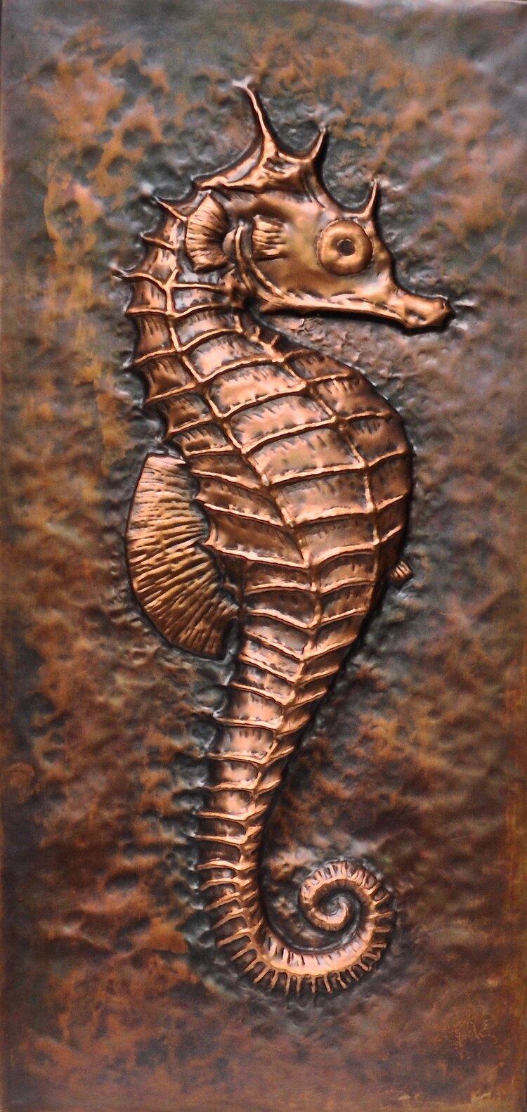"Seahorse - 23"" X 11"""