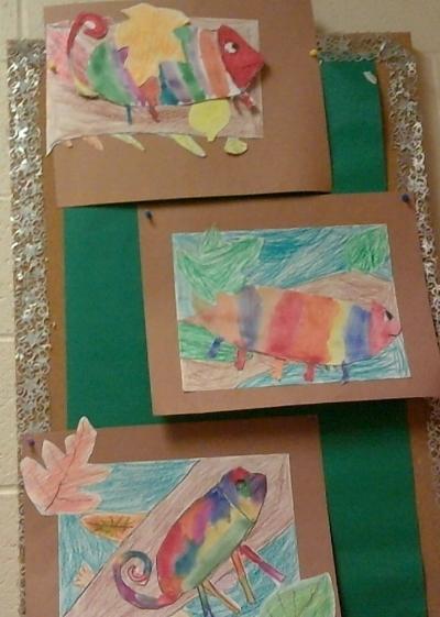 2nd grade art masterpieces