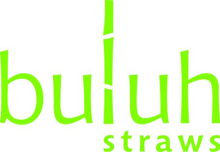 Set of 8 bamboo straws w/ cleaning brush from <i>Buluh Love</i>