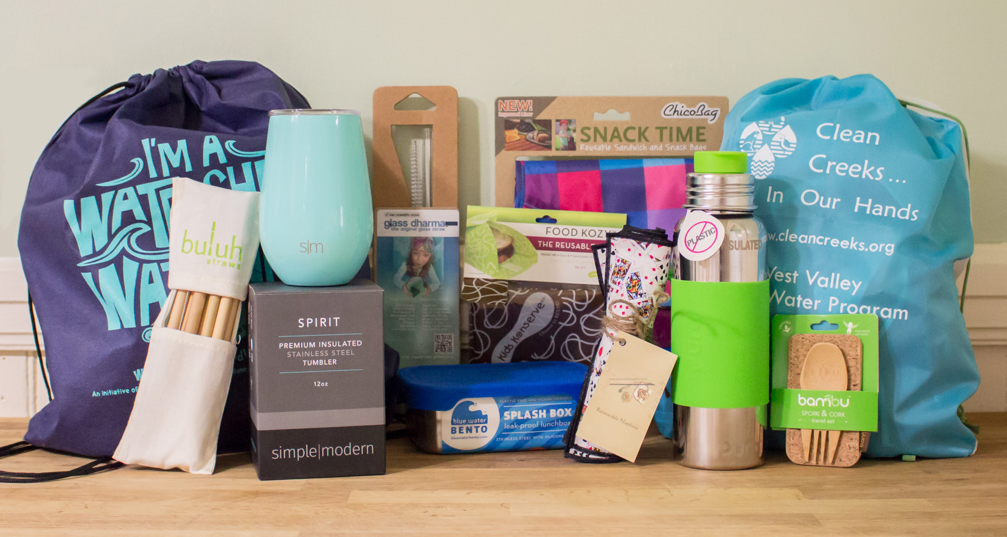 Start your own Reuse To Go kit to make single-use disposables a thing of the past. Reusable napkins, bags, utensils, cups, bottles, wraps, containers and straws are available in a wide variety of materials and designs to fit your lifestyle.