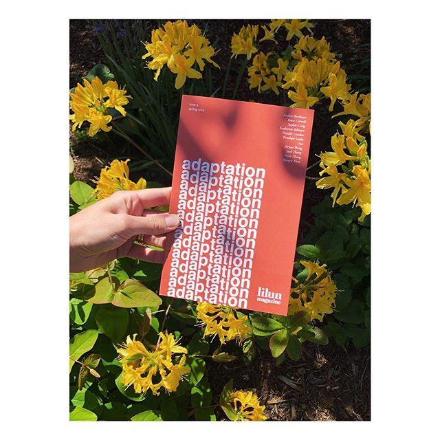 🌼 a d a p t a t i o n—our fourth issue—is now available! We feature eleven emerging writers who use short stories, essays, and poems to explore what it means to adapt, to bend, to grow. Their work is stunning. Snag your own copy (I mean, look at that burnt terra-cotta cover) at our online shop 〰️link in bio〰️ 🧡💛
