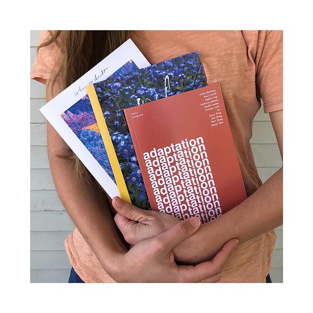 """Here are three of our last issues, the themes of which are: when in doubt, wild, and adaptation. Our writers interpreted these themes in varied ways. The theme of our fifth issue is """"how to"""" and we're confident the interpretations will be just as unique. If you're a young writer, submit your work today (all details at lilunmag.com/submit) ✨ we look forward to hearing from you!"""