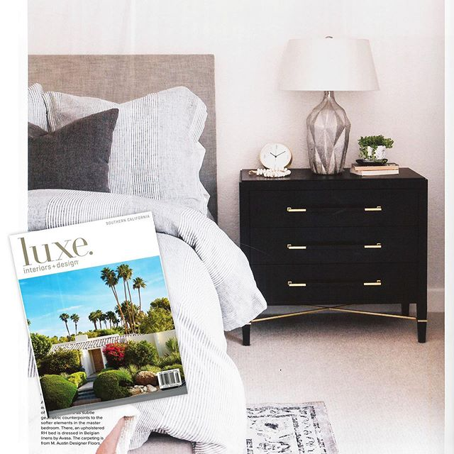 It's always a joy to see my designs in publications and even better featured in someone's home. | The Verona Chest as seen in @luxemagazine Southern California. July/August 2019 issue. The article features a beautifully designed home in Encinitas, CA by @erikagervin @southharlow designs . #furnituredesigner #furniture #lovemyjob #curatedstyle #keepcreating #homefurnishings #style #decor #curreyco #destinationforfurniture #luxeinteriors #luxemagazine #socal