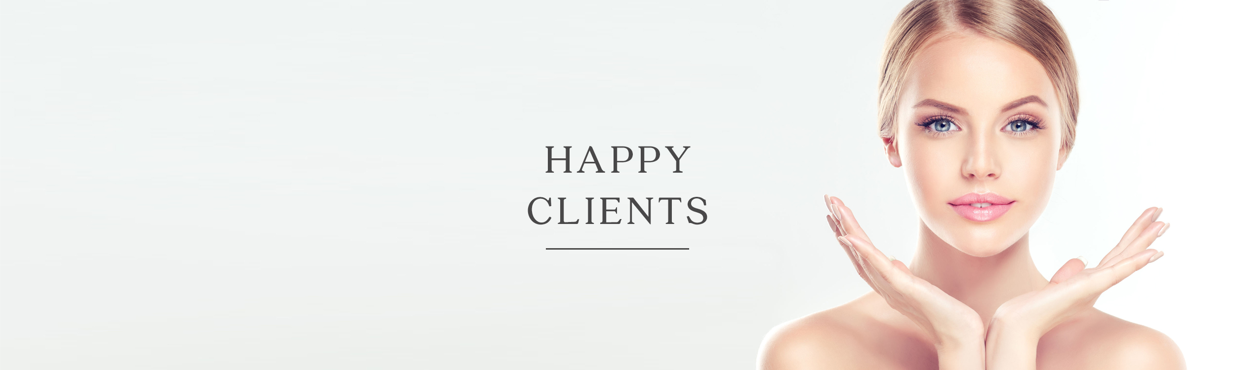 The Clinic for Medical Aesthetics - Happy Clients Banner.jpg