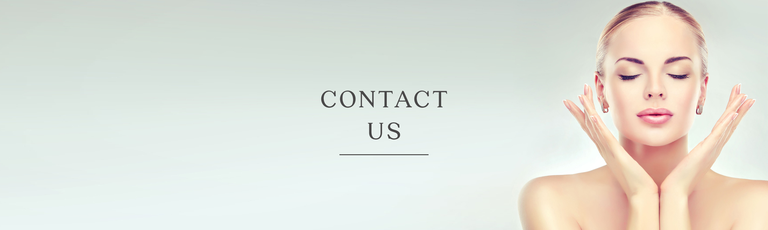 The Clinic for Medical Aesthetics - Contact Us Banner.jpg