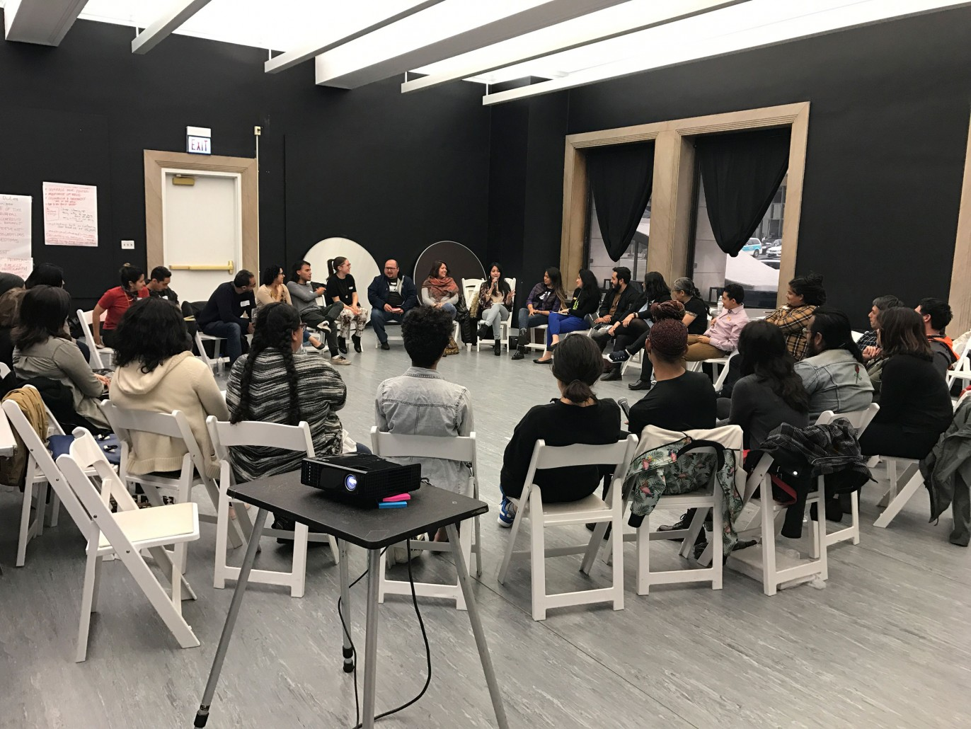 LXAR in session at the Chicago Cultural Center. Image credit: Anthony Romero and J. Soto.