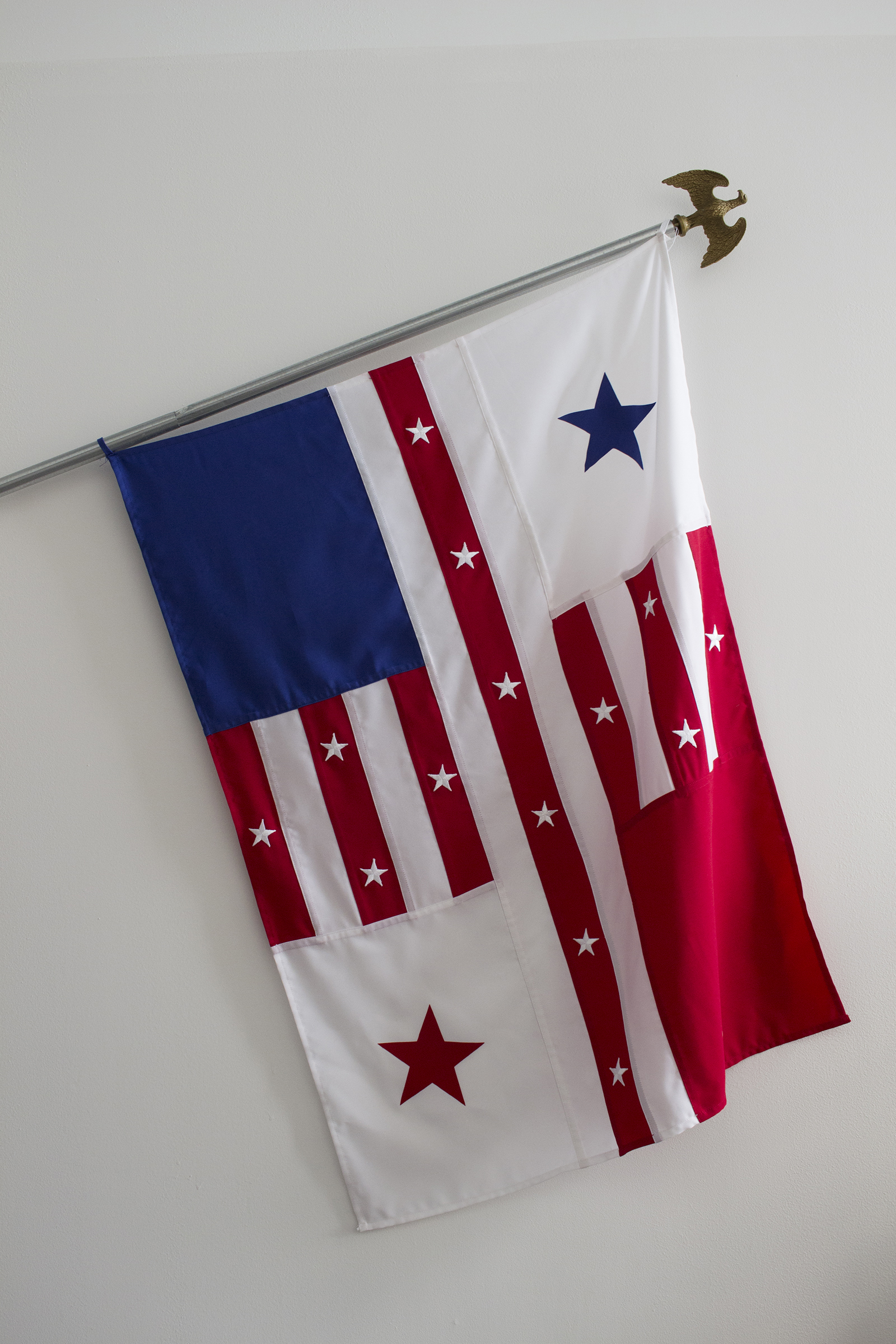 Maya Grace Misra.  Revised Flag #4 (Francisco Franklin),  2016.
