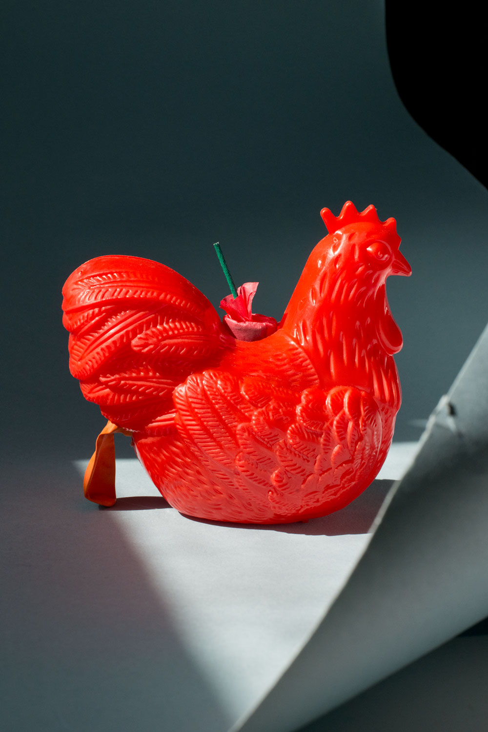 Red Chicken by Megan Pobywajlo. Image Courtesy of the Artist