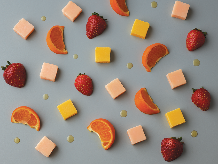 ALL NATURAL FRUIT CHEWS - Our small batch fruit chews are crafted with natural ingredients, flavors and colors. We melt, mold, and precisely infuse each chew with for a full-spectrum experience.