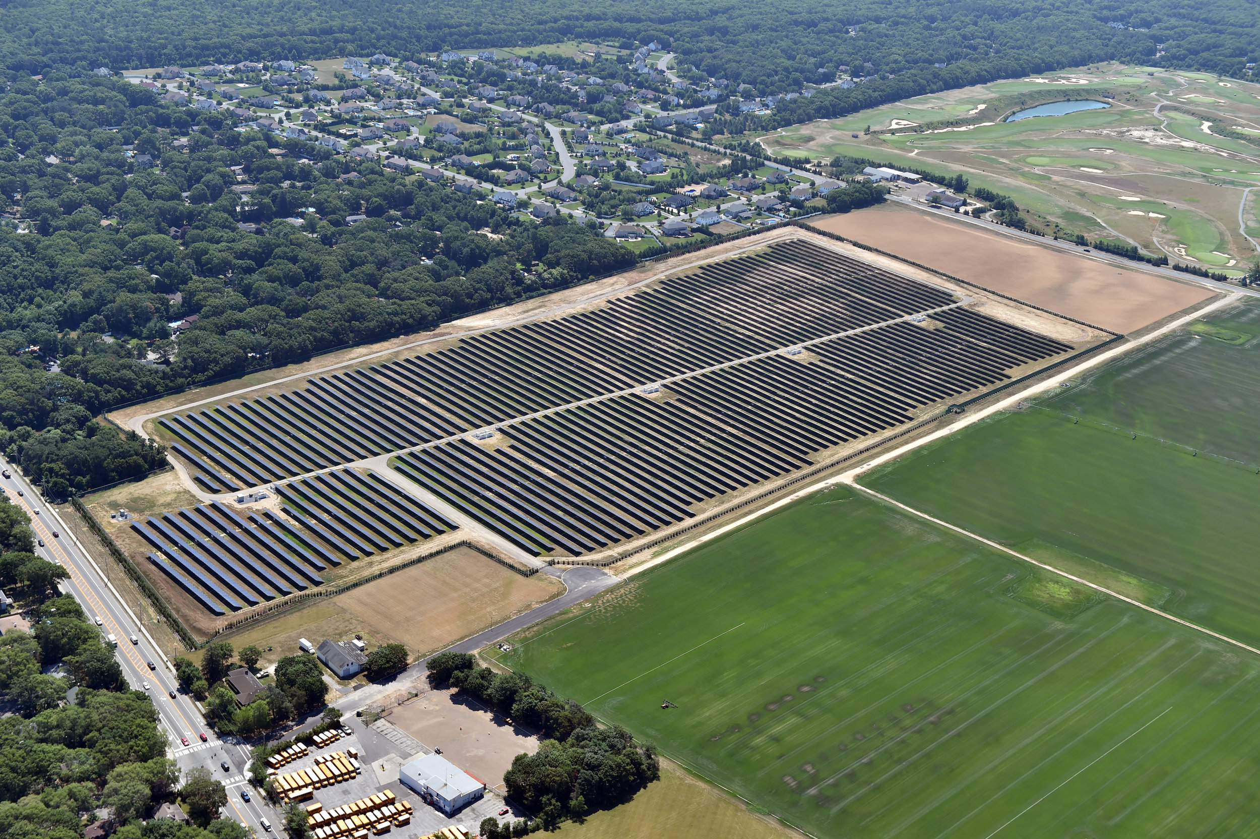 Borrego Solar and SPower's Leavenworth solar project development in NY