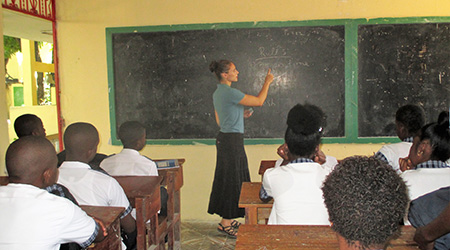 """Diocesan native teaching with The Haitian Project"" -  Our Northland Diocese Local News , January 2019"