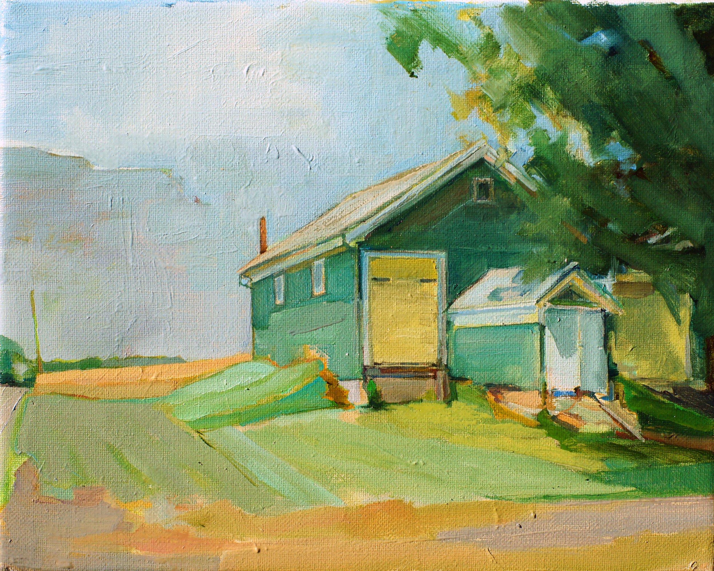 Manor Lane Barns. 8x10