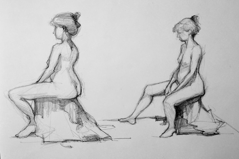 Figure Study. 14x22