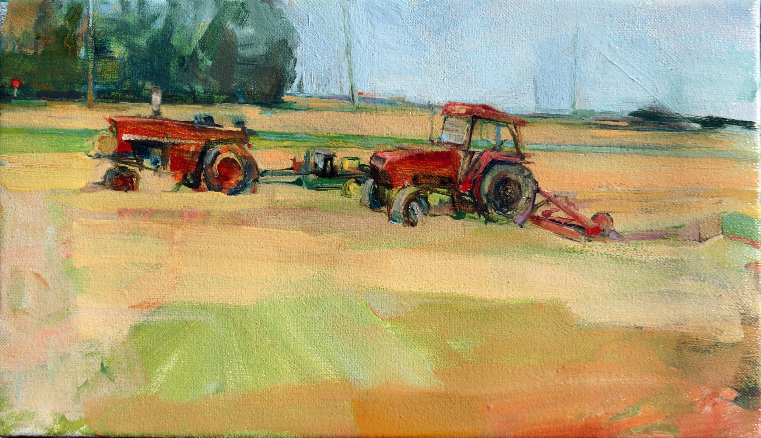 Tractors & Wind. 8 x 14